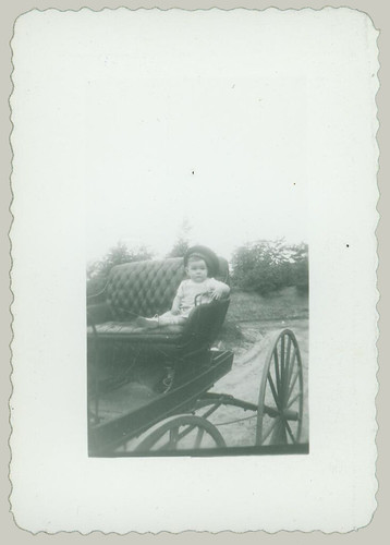 Child in buggy