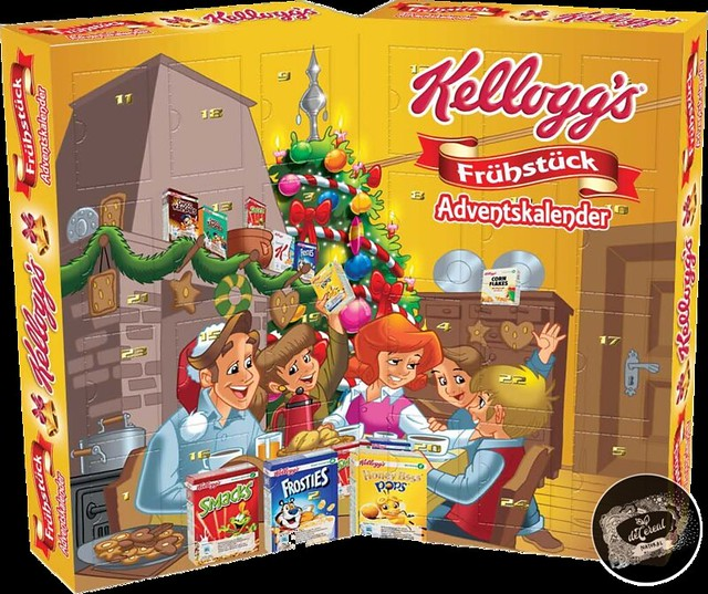 Kellogg's Adventskalender Deutsche Version