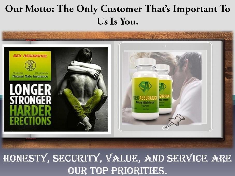 Male Enhancement Product - Sexassurance.com - Sex Pills For Men