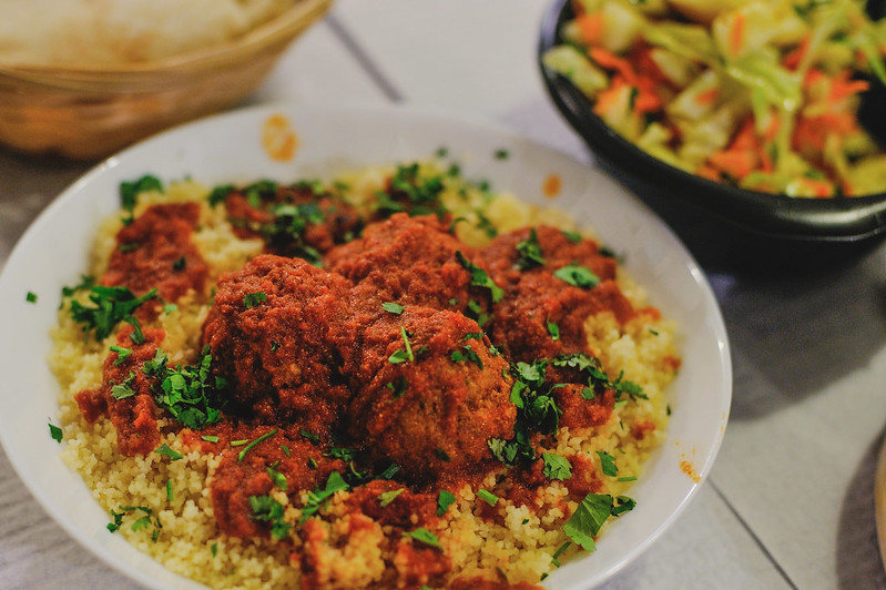 Fish And Couscous Bola Falafel