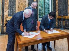 Signing of Memorandum of Understanding with Global Corporation Center