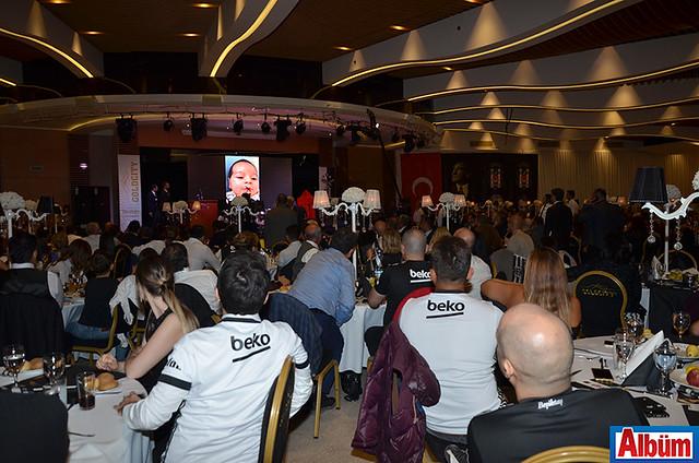 Alanya Beşiktaşlılar Derneği Gold City Hotel balo