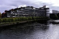 Estrasburgo Instituciones europeas desde el río