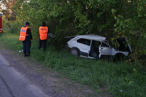 Accidente ruta 205 km. 107