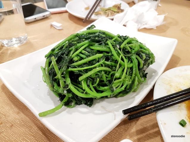 蒜蓉炒莧菜