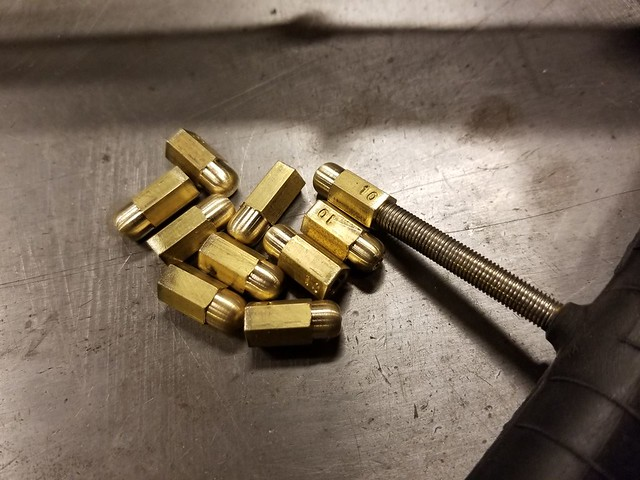 Brass Hex valvecap