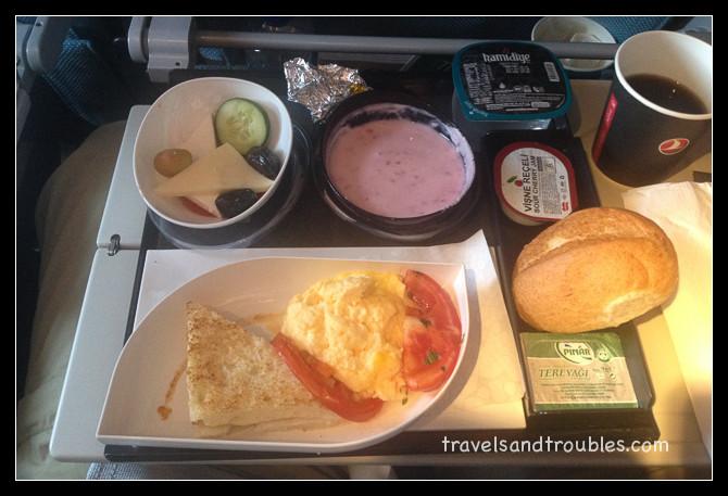 Ontbijt (Turkish Airlines)