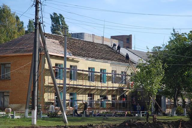 Ремонт Тульчинської лікарні