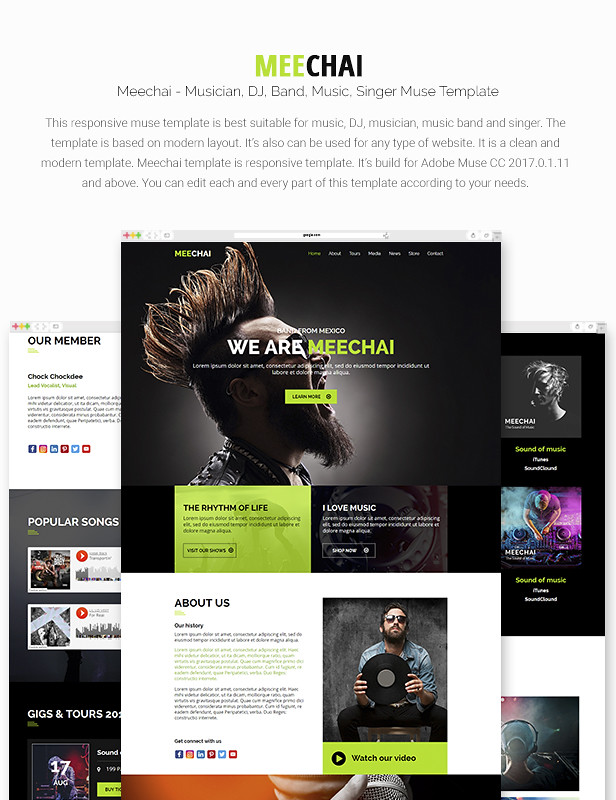 Mellie - Music Muse Template - 7