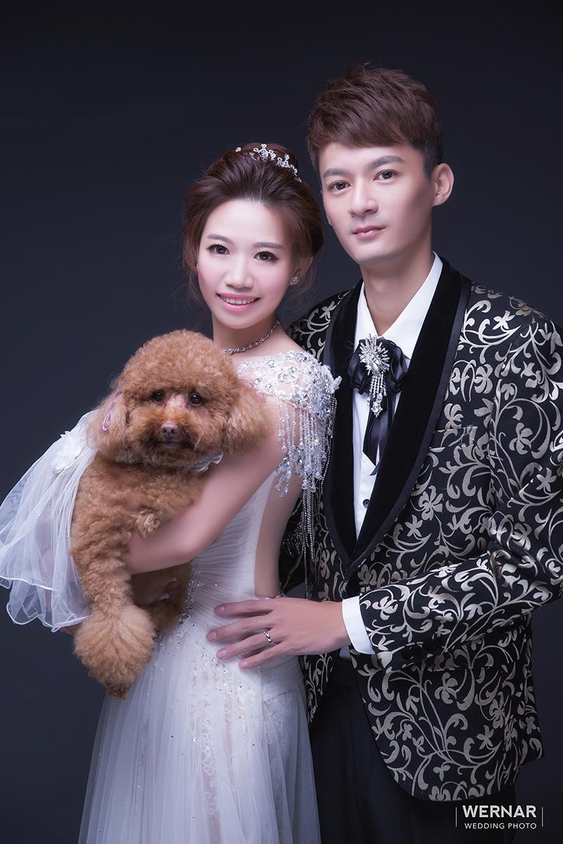 婚紗攝影,婚紗照,台中華納婚紗推薦,寵物婚紗