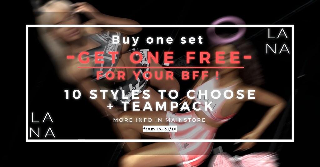 Buy one Set & Get one FREE !