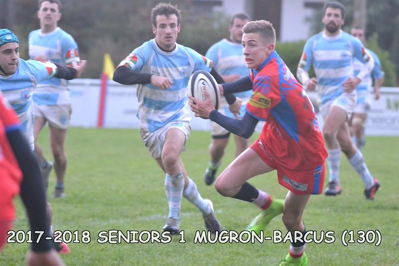 2017-2018 SENIORS 1 MUGRON-BARCUS
