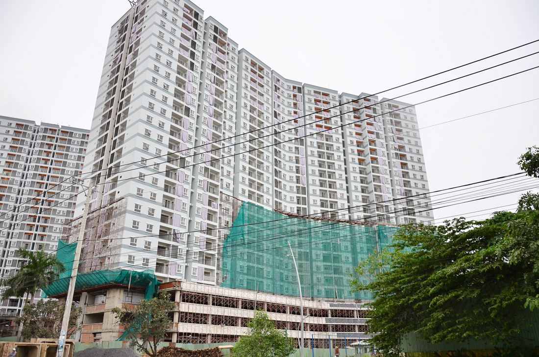 Mặt ngoài tháp Bắc M1 - Jamona Apartment - Luxury Home.