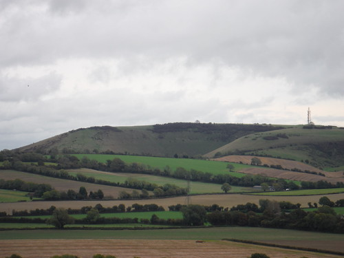 Butser Hill, from Small Down