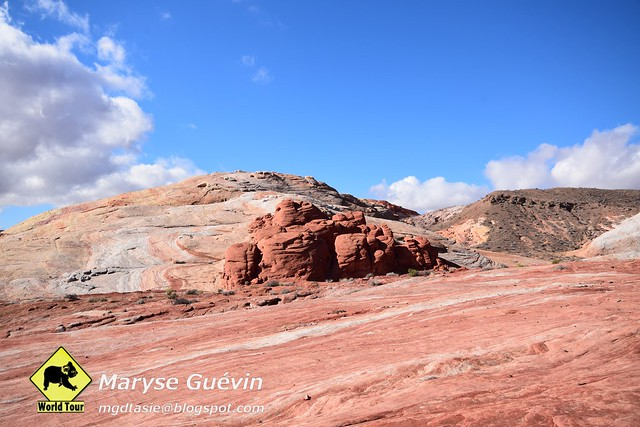 Valley of Fire State park Nevada USA