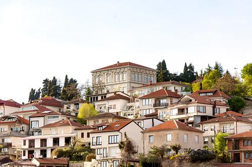 ohrid fyrom archbishopric cityscape