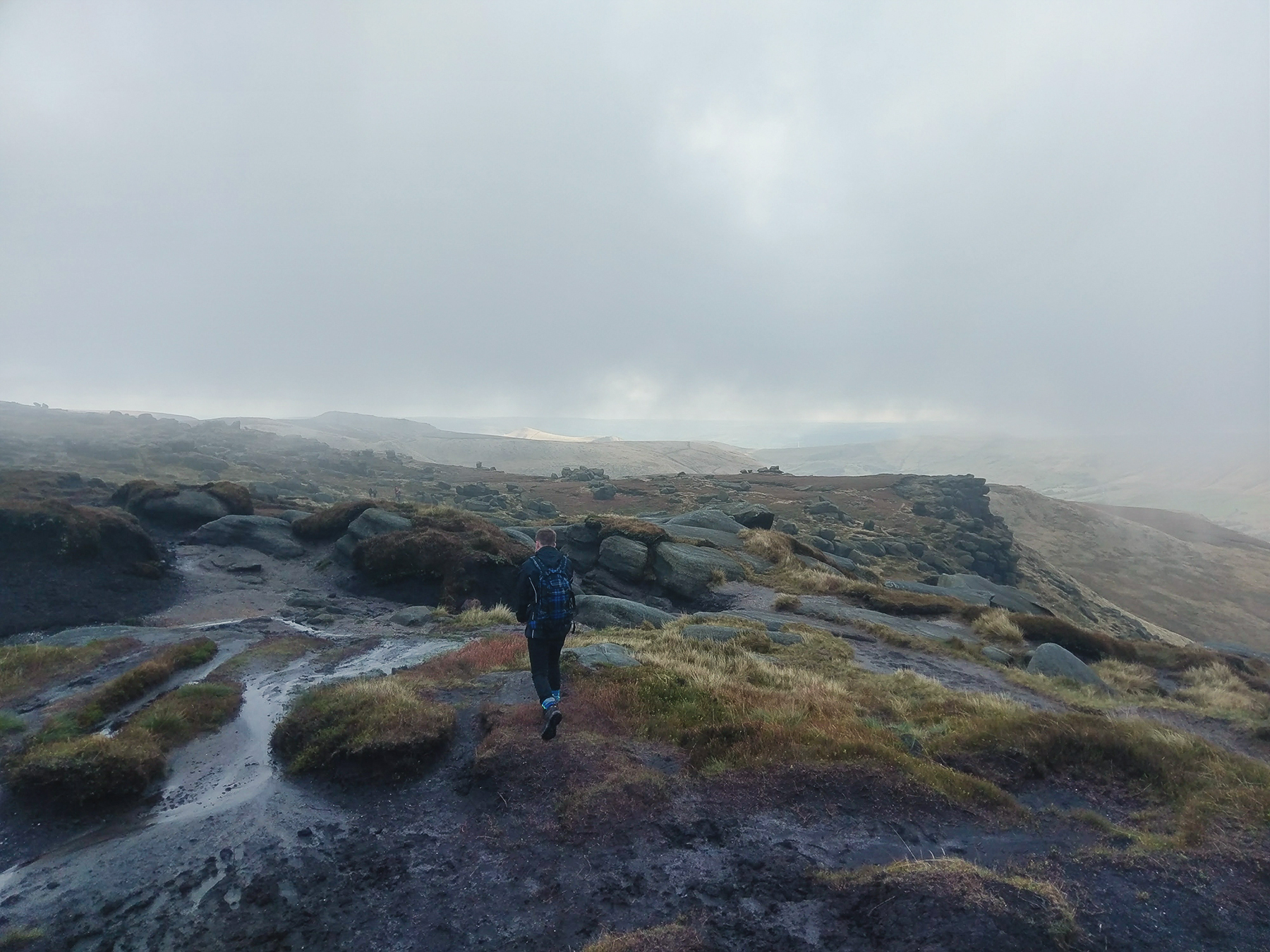 Kinder Scout - Peak District Walk