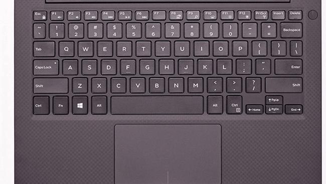 teclado del dell xps 13