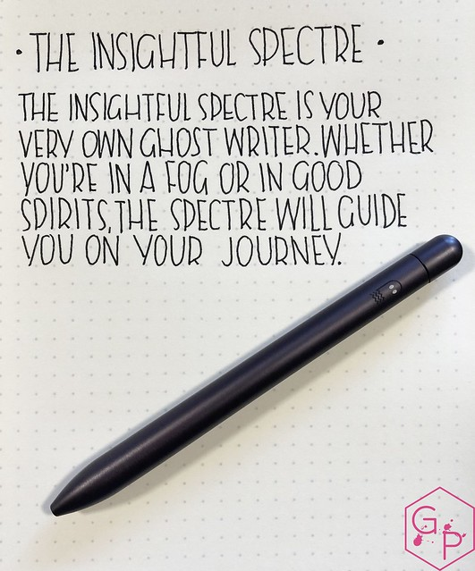 Review @BaronFig Limited Edition Squire The Insightful Spectre Rollerball Pen 6