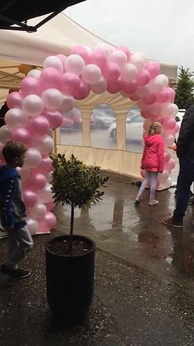 Ballonboog 6m Opening Joy of Taste Zuidland