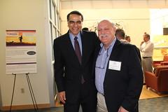 Dr. Mostafa Analoui and Jim Schulwolf