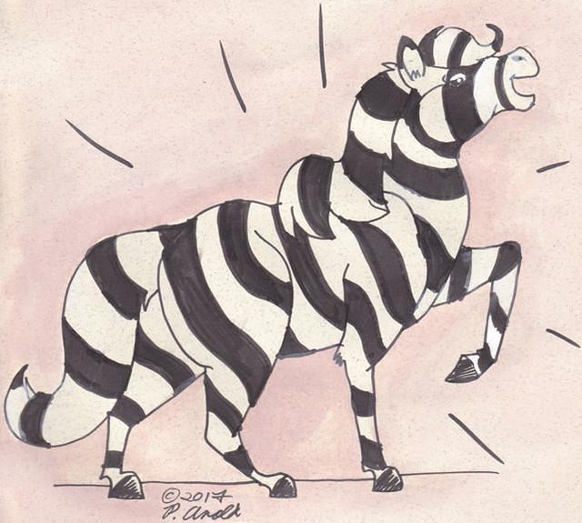 Day 17: A Zebra!