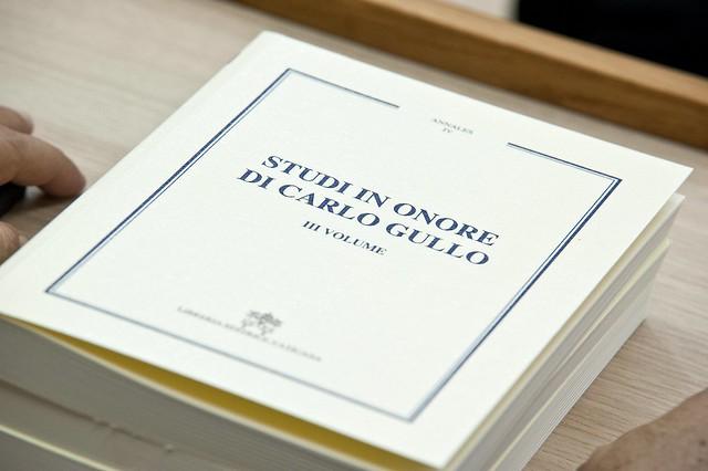 """Presentazione del libro """"Studi in onore di Carlo Gullo"""""""