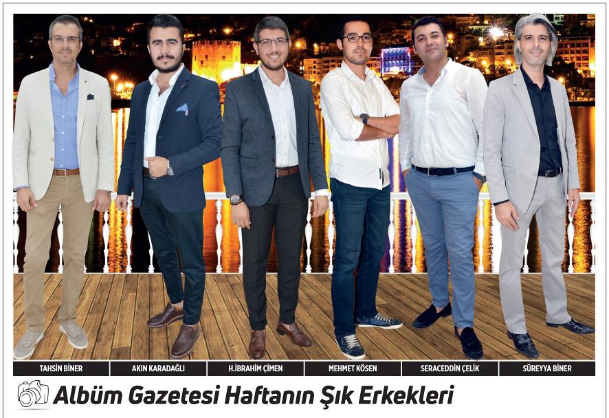 Tahsin Biner, Akın Karadağlı, H. İbrahim Çimen, Mehmet Kösen, Seraceddin Çelik