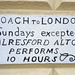 Coach To London
