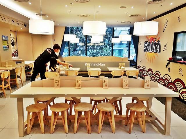 Sama Curry & Cafe Interior