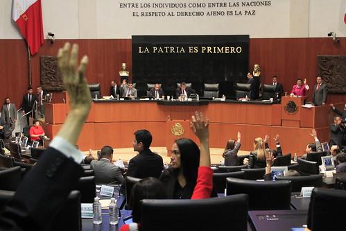 Sesión Ordinaria del Senado de la República 19/oct/17