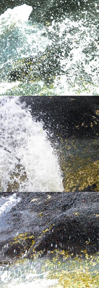 Ocean spray collage