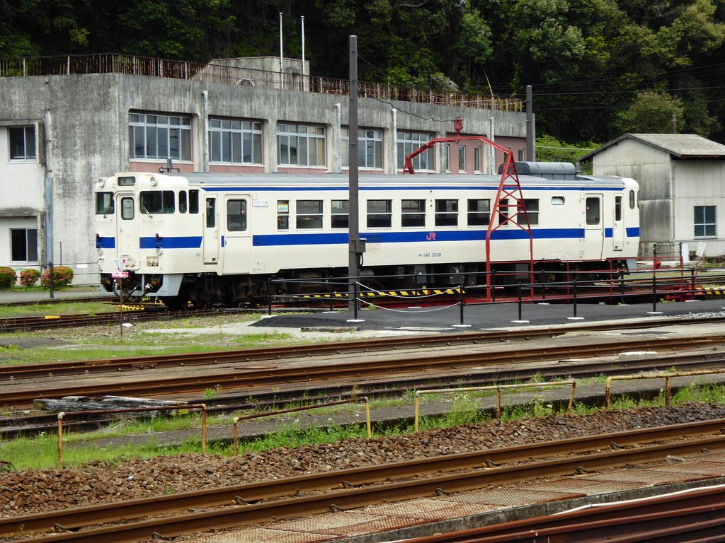 JR Kyushu KiHa 140-2039 Hitoyoshi Depot.