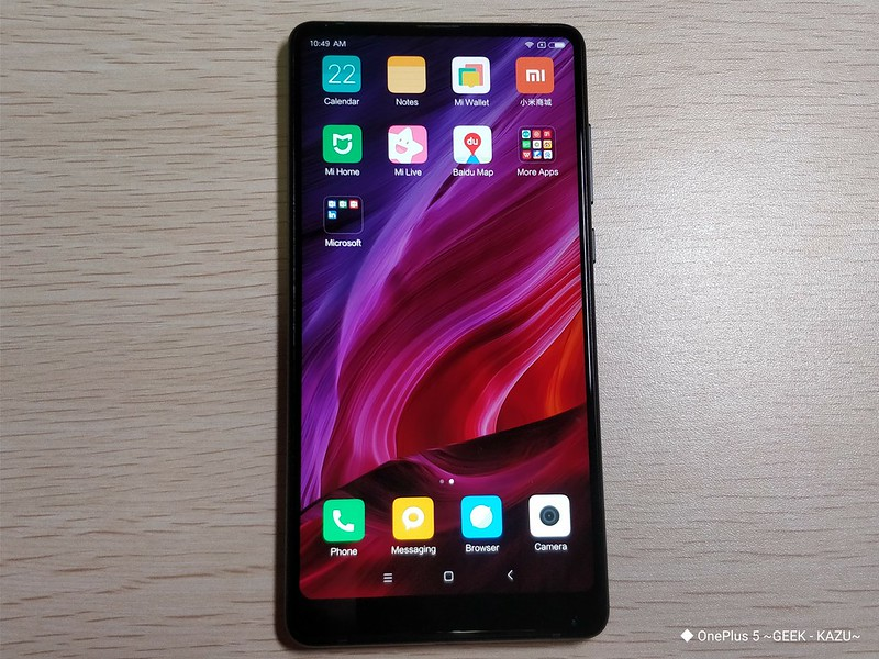 Xiaomi mi mix 2 開封レビュー (32)
