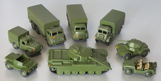Dinky Toys 1950s Military Vehicles