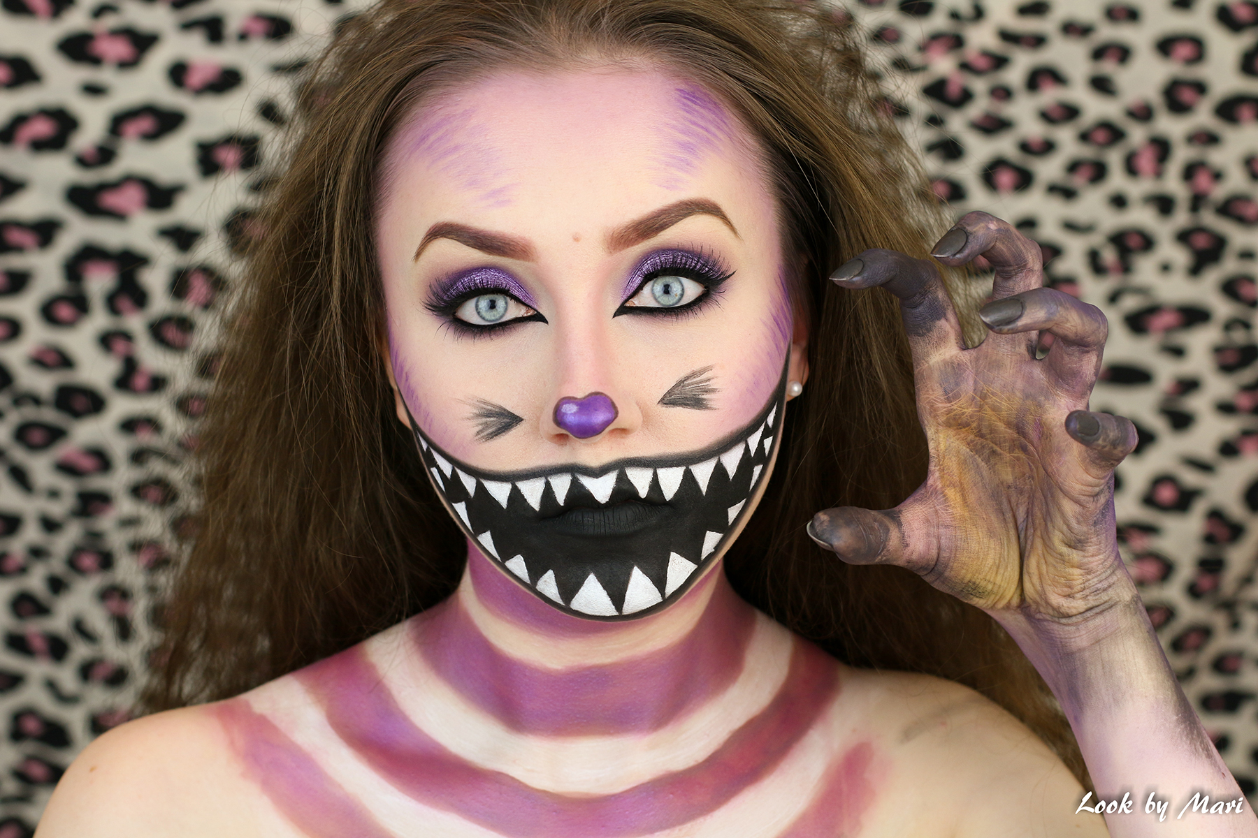 "cat from ""alice in wonderland"" tutorial 