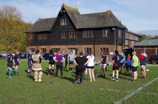 Lewes Ladies' rugby taster day and 20th anniversary lunch