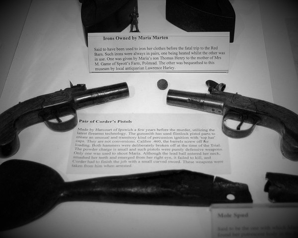William Corder's pistols