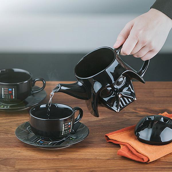 史上最黑暗的下午茶時間?!ThinkGeek《星際大戰》達斯·維德茶杯套組 Star Wars Darth Vader Teapot Set