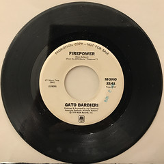 GATO BARBIERI:FIREPOWER(RECORD SIDE-B)