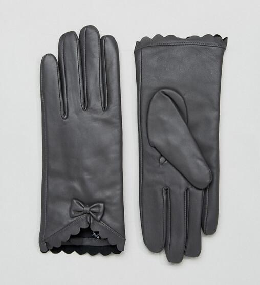 ASOS перчатки черные 1
