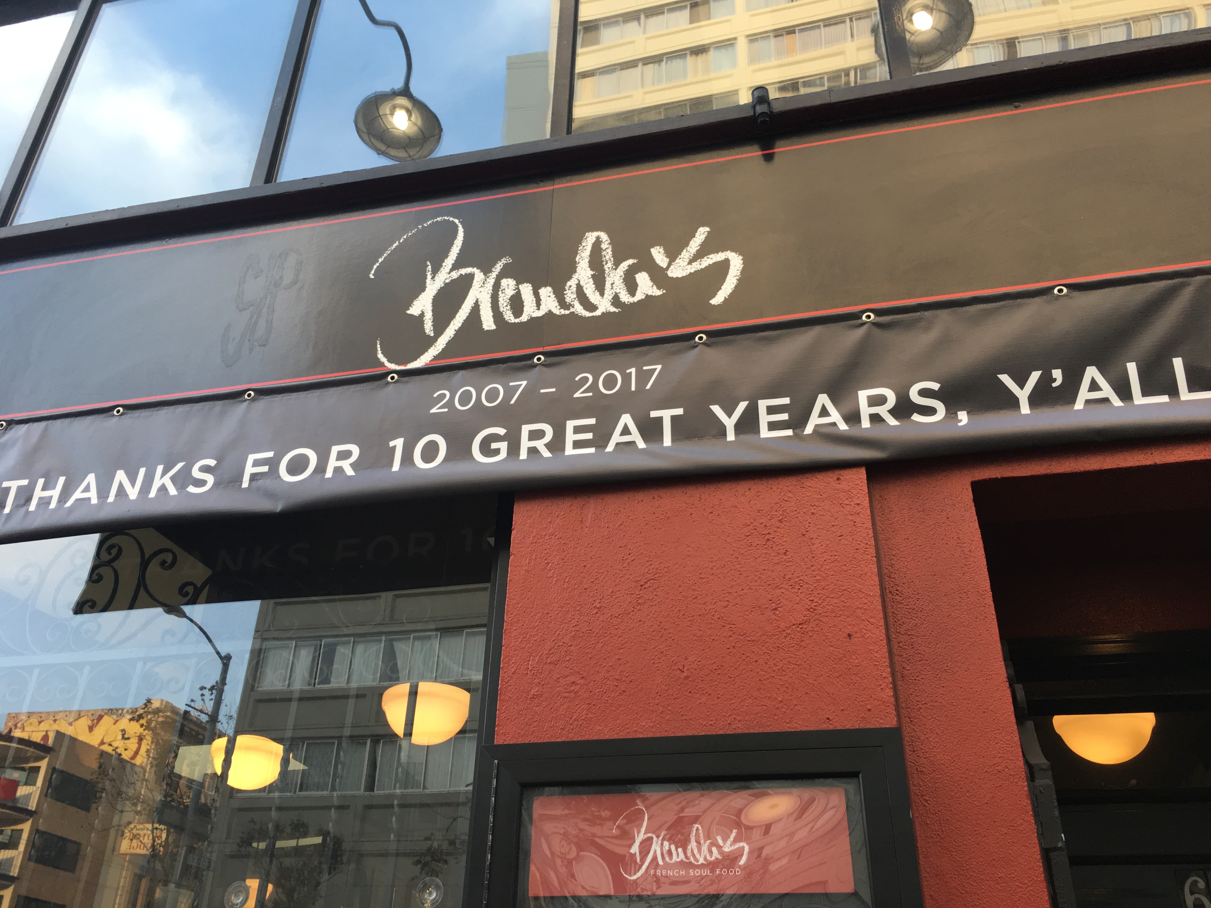 San Francisco Food - brenda's exterior