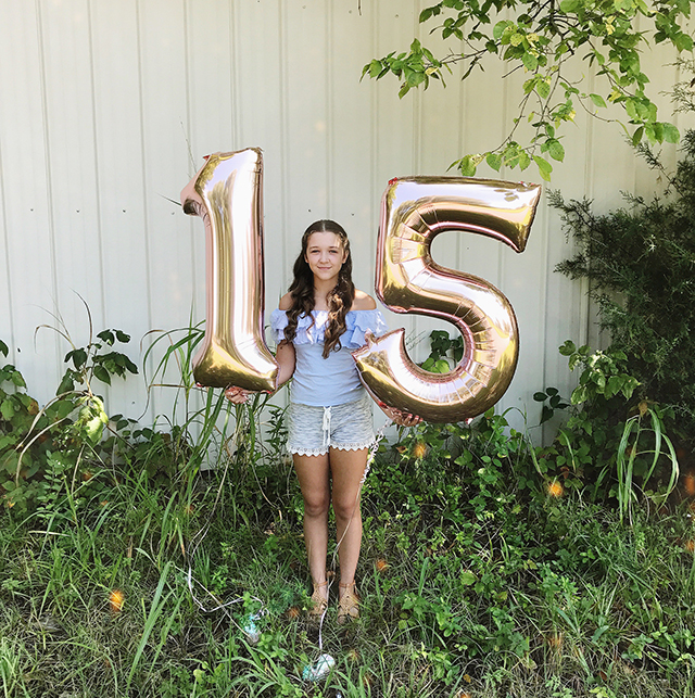 Hope Turns 15