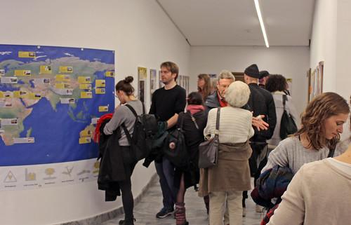 Eröffnung der IPPNW-Ausstellung Hibakusha Weltweit in Berlin