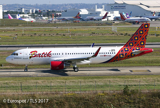 F-WWTM Airbus A320 Batik Air