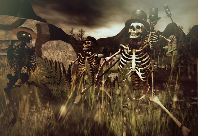 Skelly Party At HarshLands