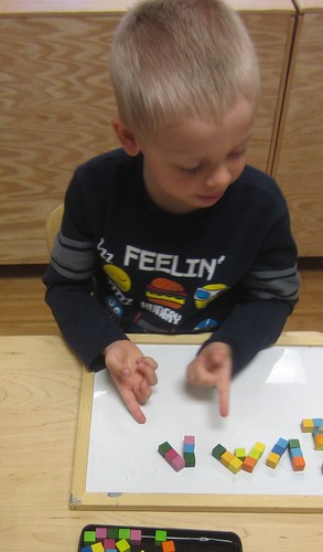 colored magnetic art blocks