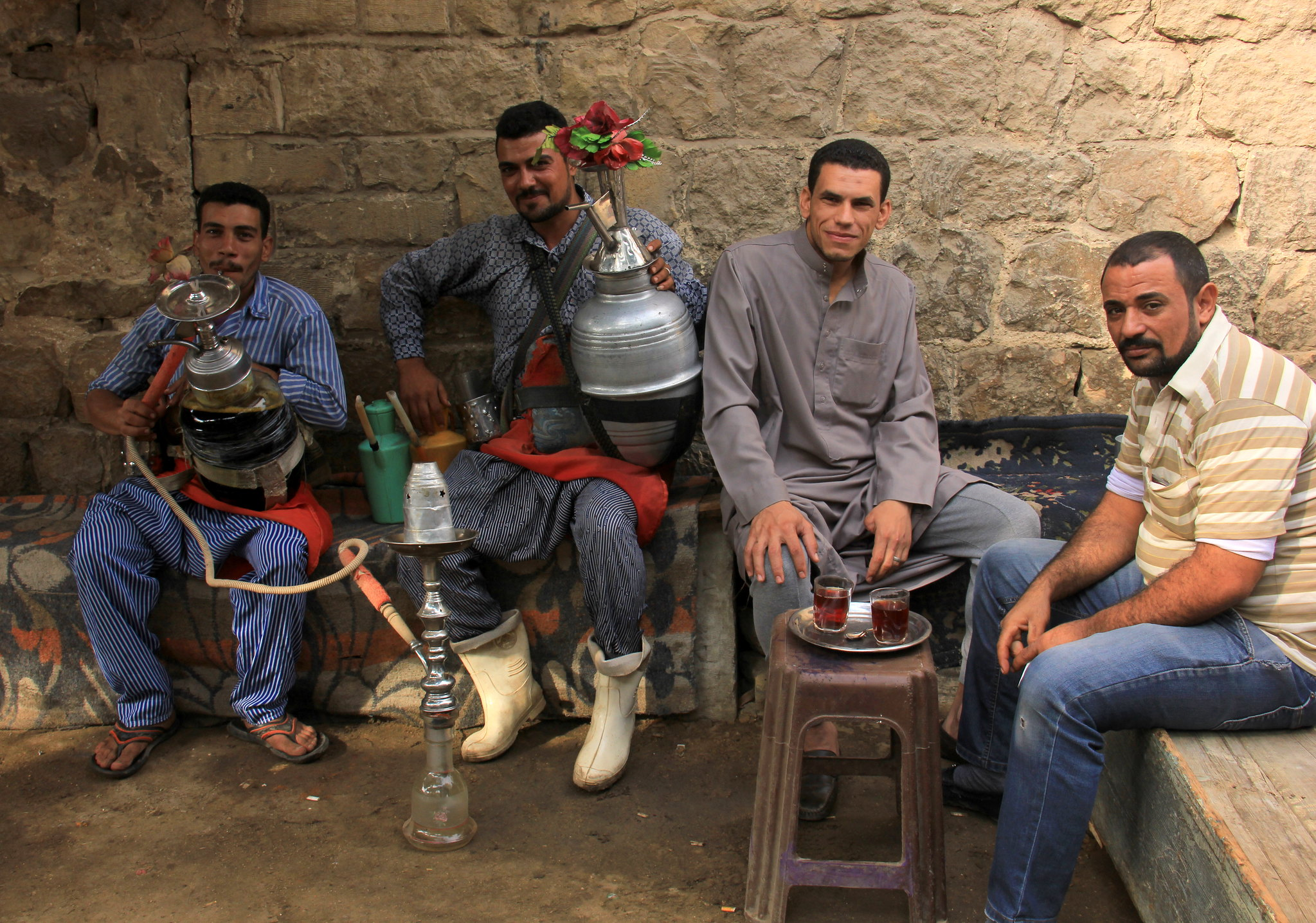 Karkade is a popular drink in Egypt