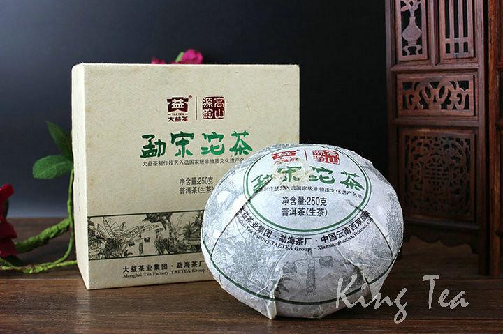 Free Shipping 2011 TAE TEA Dayi MengSong Tuo Bowl YunNan MengHai Chinese Puer Puerh Raw Tea Sheng Cha