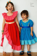 elena and isabel inspired dresses